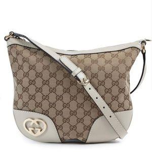 Gucci Lovely Hearts Interlocking G Crossbody bag